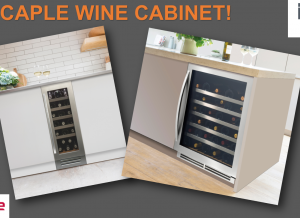 Win a Caple Wine Cabinet with in-toto Kitchens!