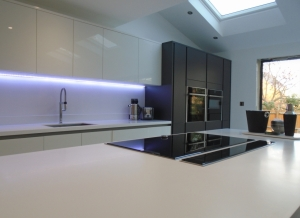 Contemporary and Sleek Kitchen by in-toto Northampton