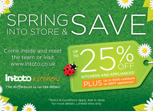 in-toto Spring Offer Now On!