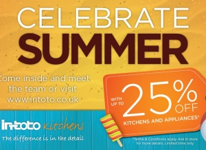 in-toto Kitchens Summer Sale Now On!