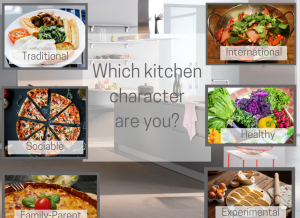 A kitchen for every character