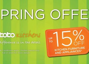 Step Into Spring With Our in-toto Spring Offer