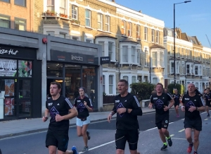 in-toto Fulham supports Adidas city run