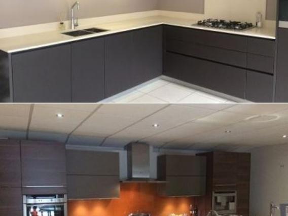2 ex display kitchens for sale at in toto stockport