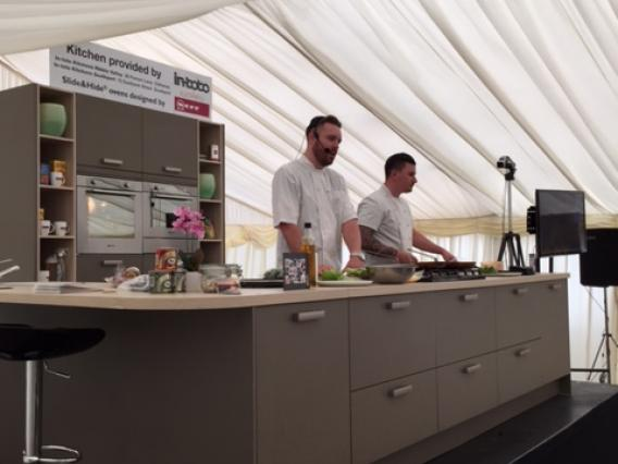in-toto Kitchens Southport at Southport Food & Drink Festival