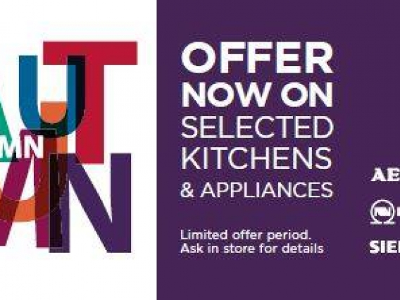 There's Still Time to Take Advantage of Our Autumn offer