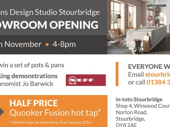 Grand Opening Event at in-toto Stourbridge