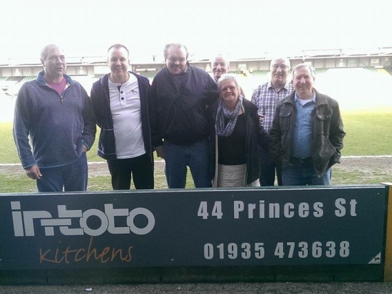 in-toto Yeovil Clients Cheer the Team to a Convincing Win!
