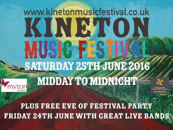 in-toto Leamington Spa Supports Kineton Music Festival