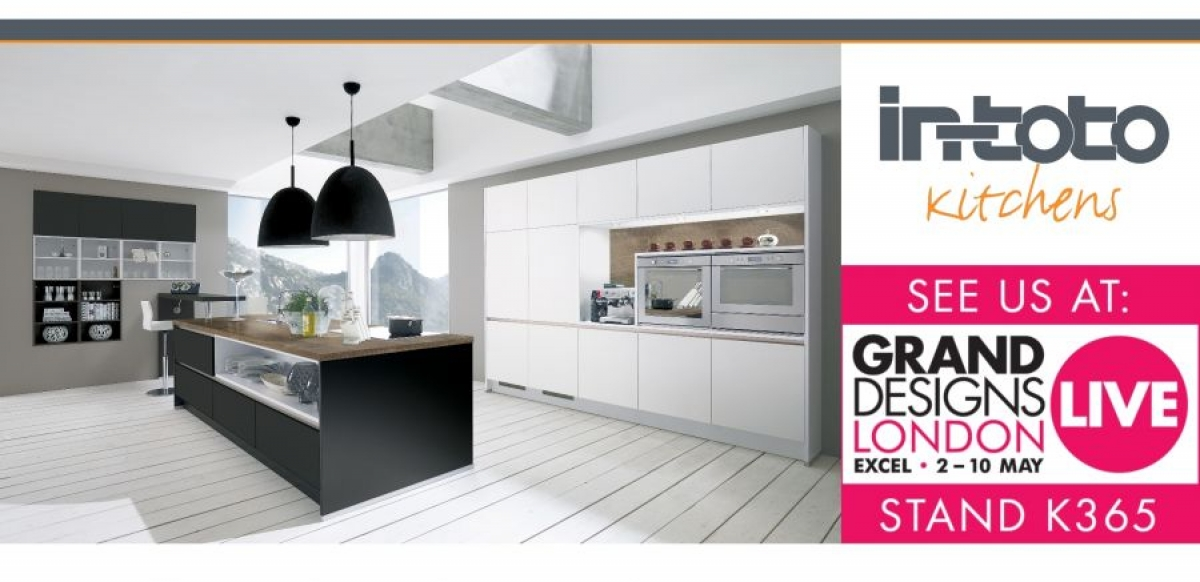 Join in-toto Kitchens at Grand Designs Live 2015