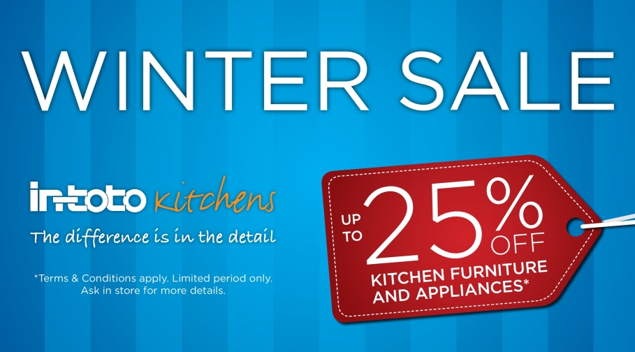 in-toto Kitchens Winter Sale Now On!