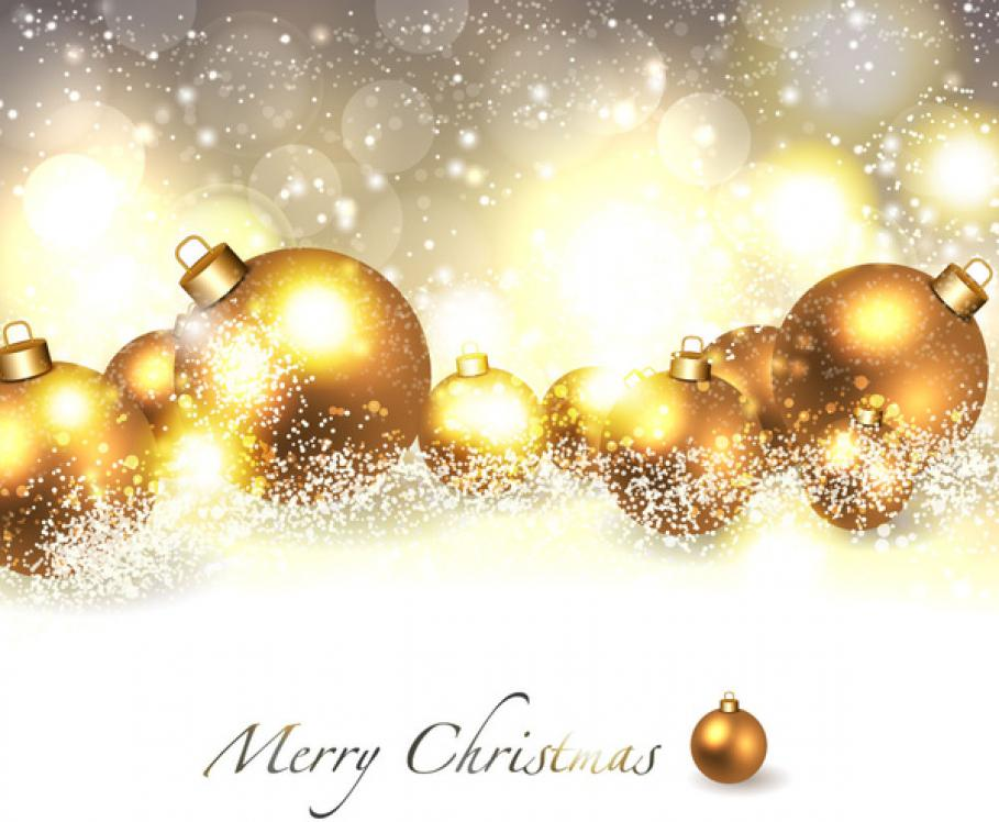 merry christmas_background_with_golden_ball_6824747
