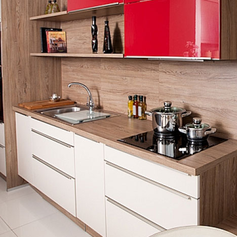 German kitchens by in toto for Kitchen display